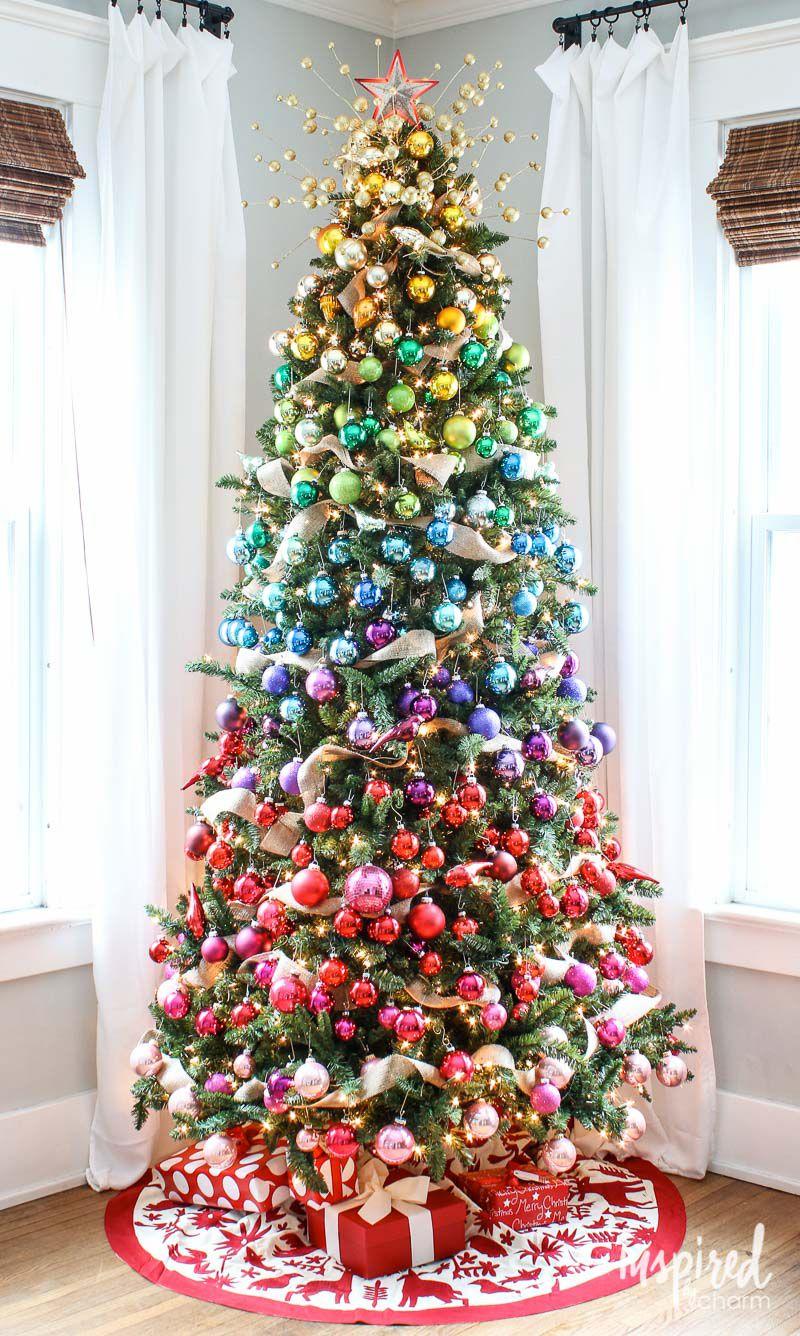 Árvore de Natal Arco-íris