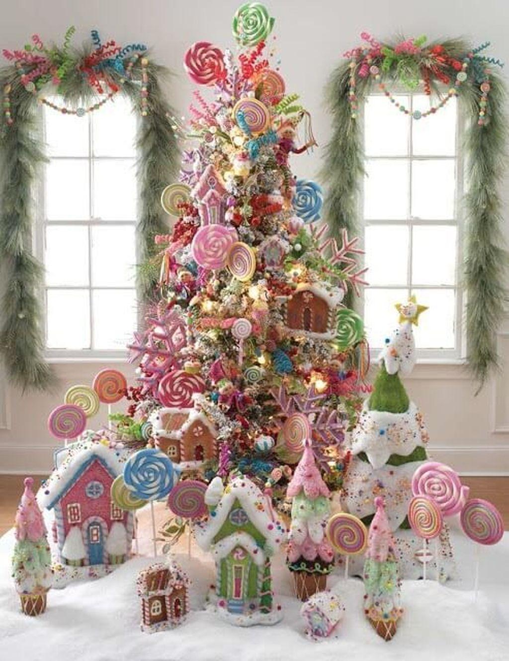 Árvore de doces de natal