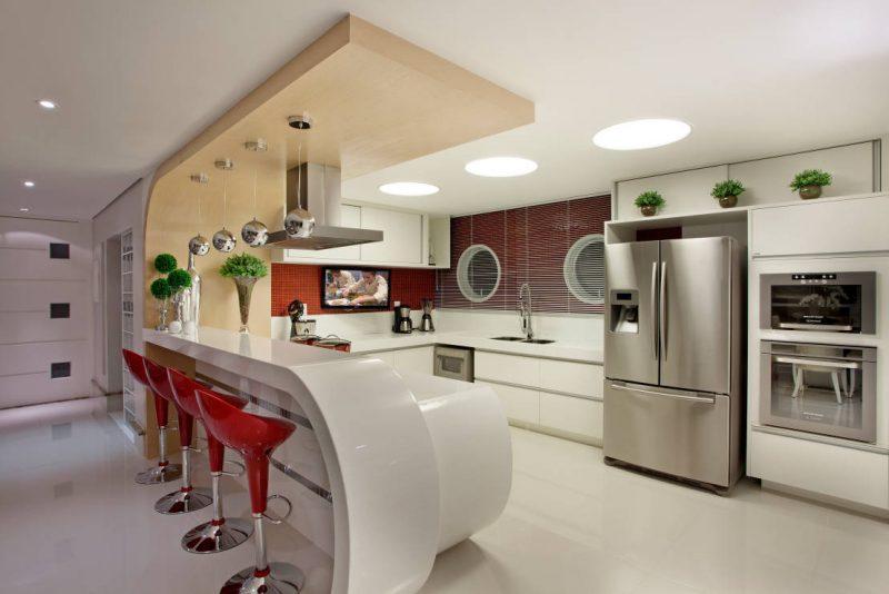 Cozinha de Luxo moderna
