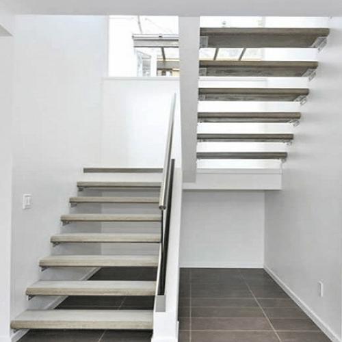 tipos de escadas - em u