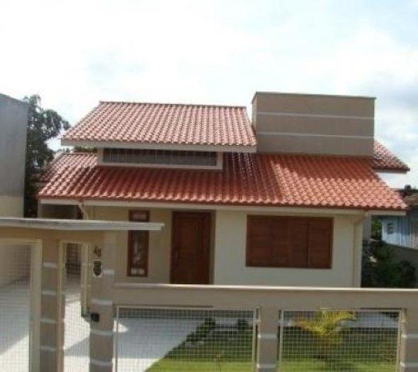 Fachadas de Casas Térreas Com Telhado Duas Águas