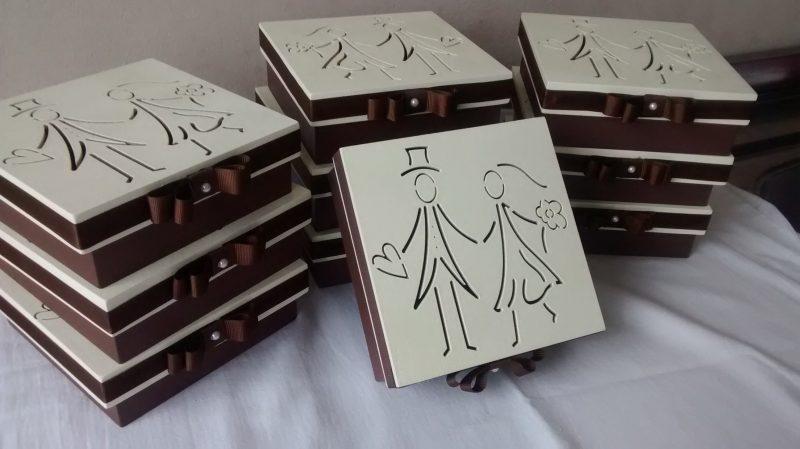 Lembrancinhas de Casamento Rústico