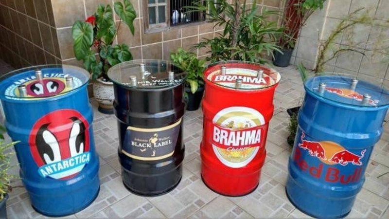 tambor decorativo