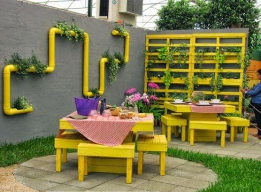 Móveis de Paletes Para Jardim