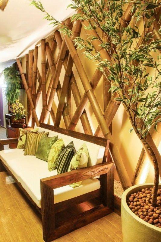 Decoração Com Bambu