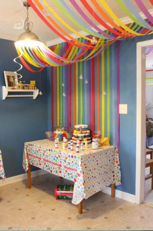 Decoração Com Papel Crepom Para Festa Infantil
