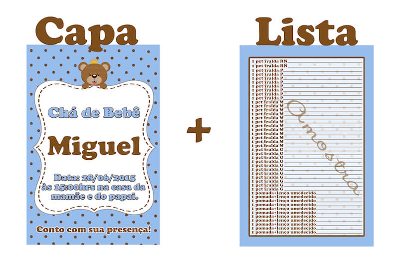 Lista de Chá de Bebê