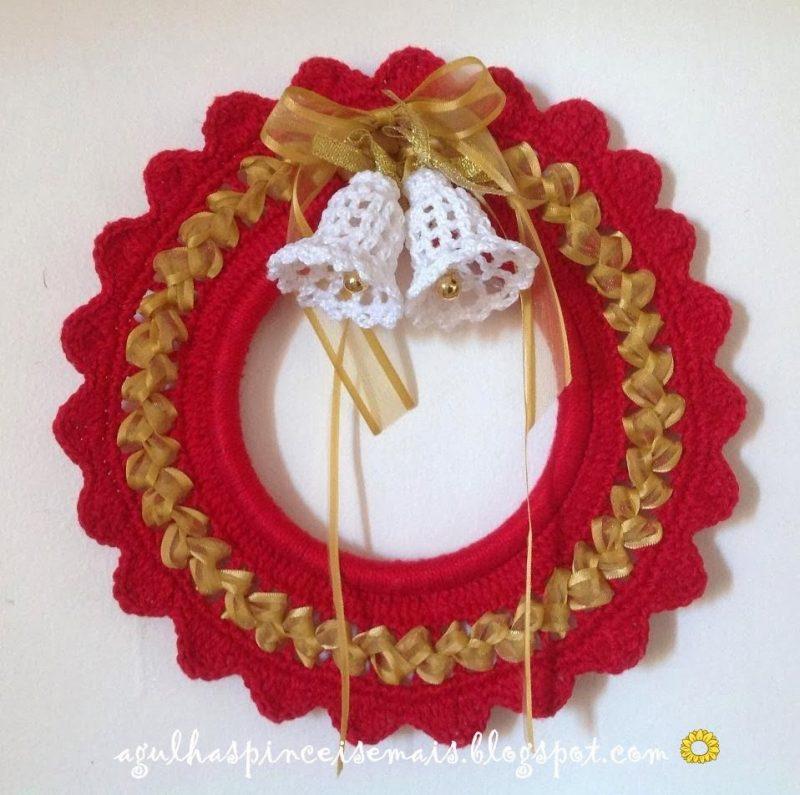 Artesanato de Natal em Crochê