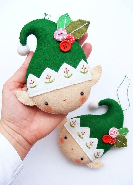 Artesanato de Natal em Feltro
