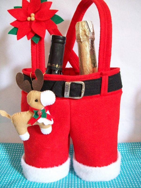 Artesanato de Natal em Tecido
