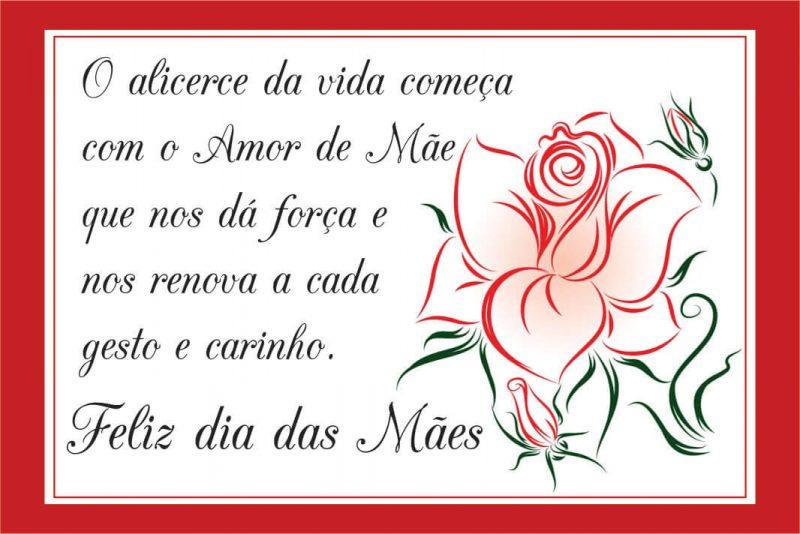 Mensagem Dia Das Mães de Consideração - Coração