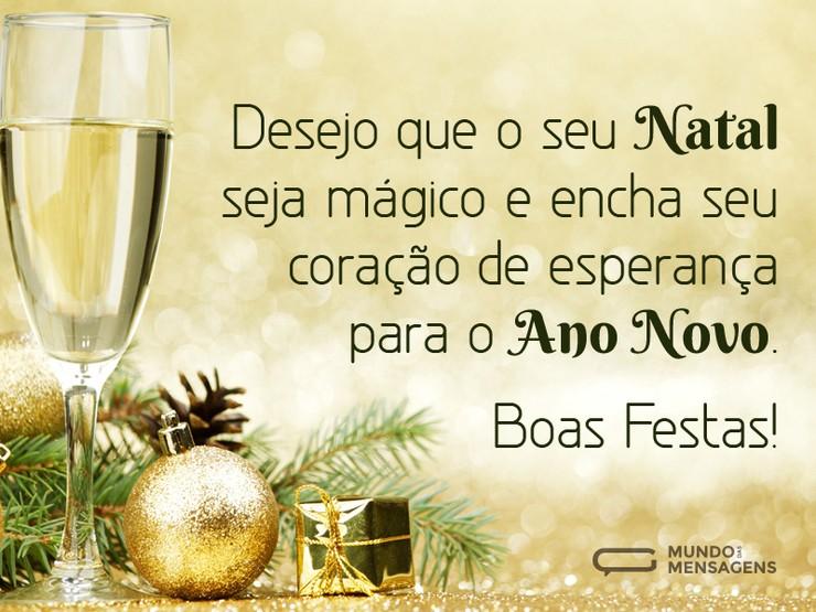 Frases De Boas Festas Para Clientes: MENSAGENS DE NATAL 2018 → Amigos, Ano Novo E +【31 FRASES!】