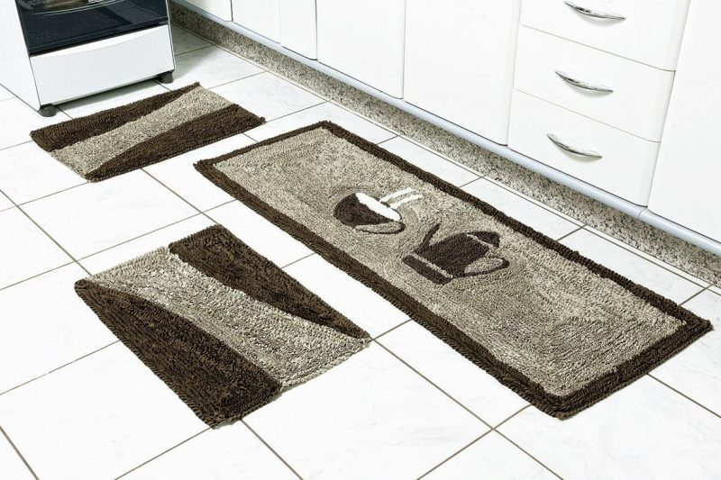 Tapetes Para Cozinha Antiderrapante - Emborrachado