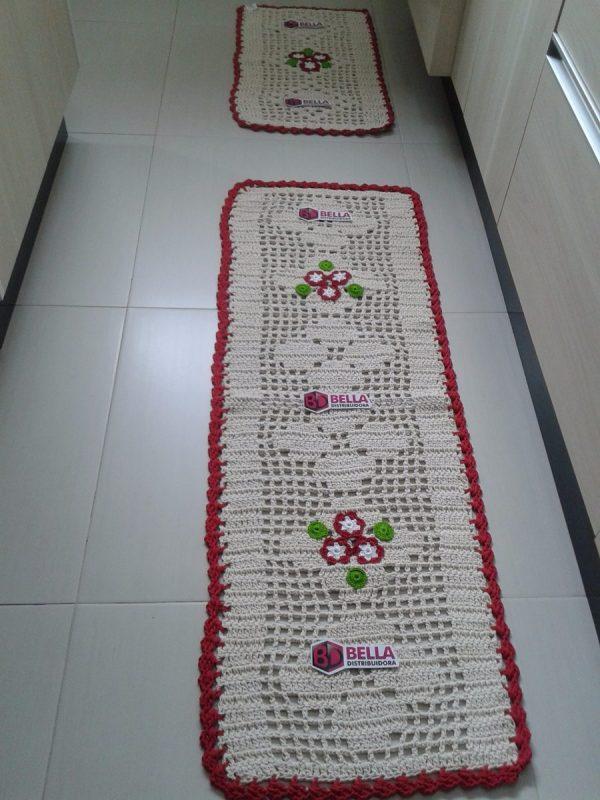 Tapetes de Crochê Para Cozinha
