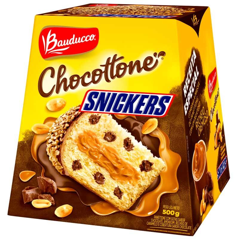 Chocotone Bauduco Snickers