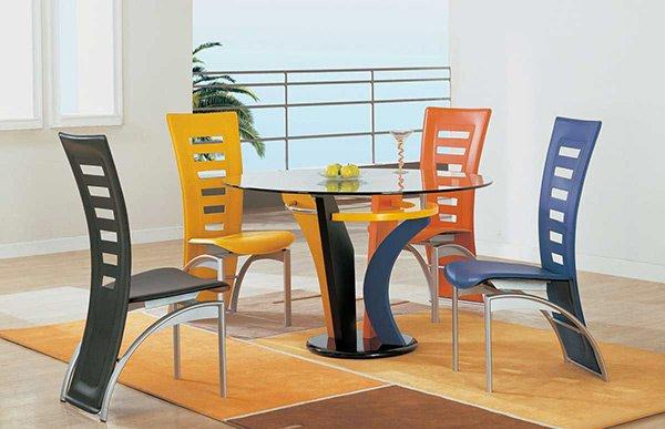 Cadeiras Coloridas Para Mesa de Jantar