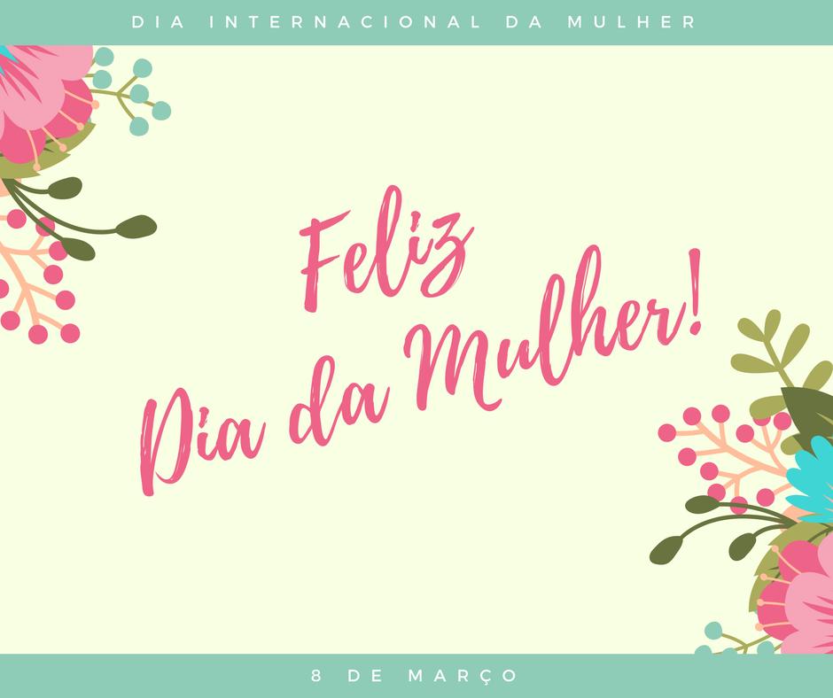 Cartão Dia da Mulher