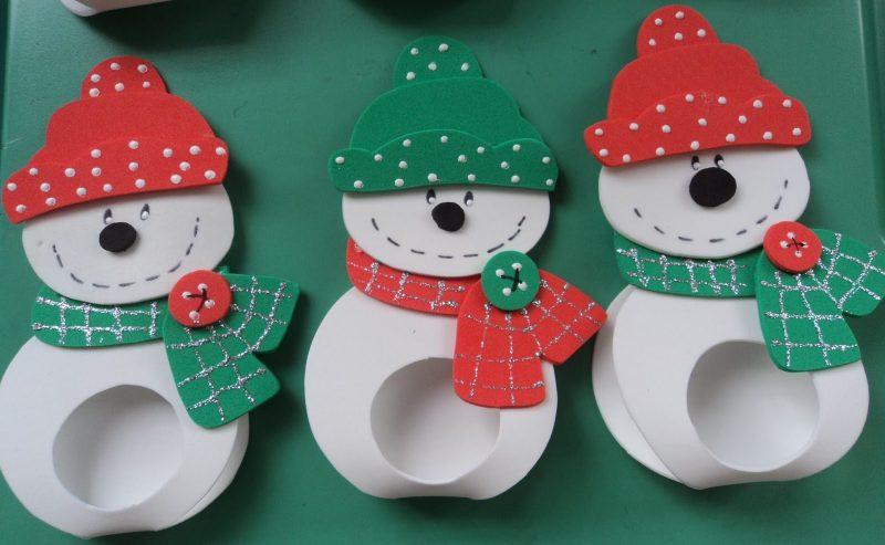 Lembrancinha de Natal em EVA