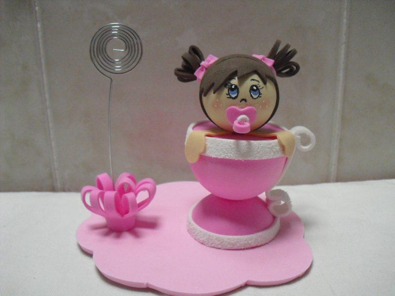 Lembrancinhas para Chá de Bebê em EVA
