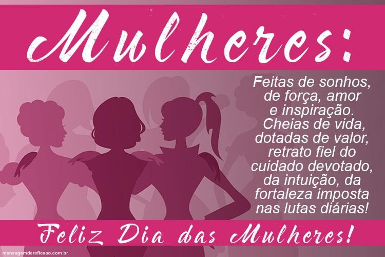 Mensagem Sobre o Dia da Mulher