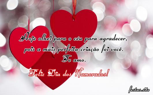 Mensagem de Feliz Dia Dos Namorados