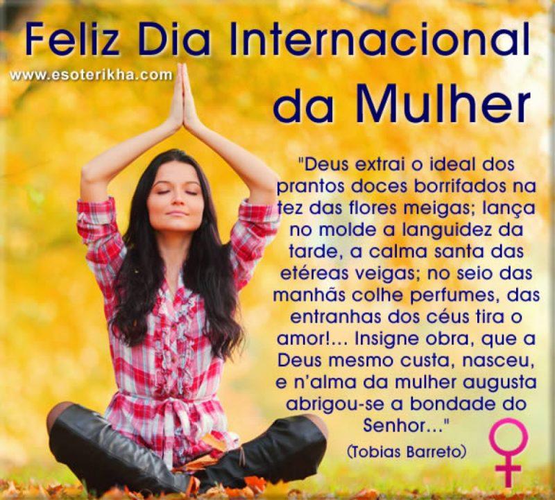 Mensagem do Dia da Mulher