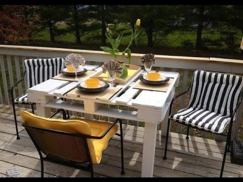 Mesa de Jantar de Pallet