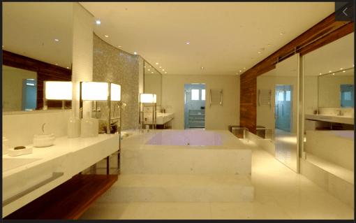Banheiro da Casa da Ana Hickmann