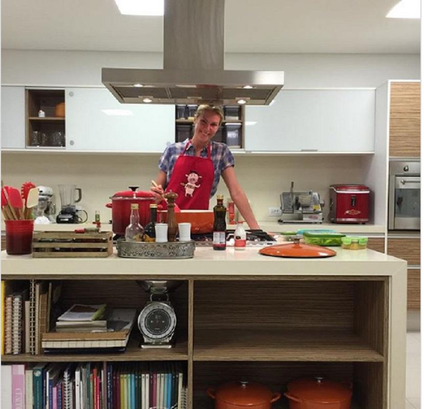 Cozinha da Casa da Ana Hickmann