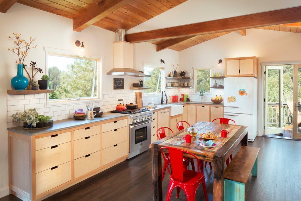 Cozinha Rústica Colorida