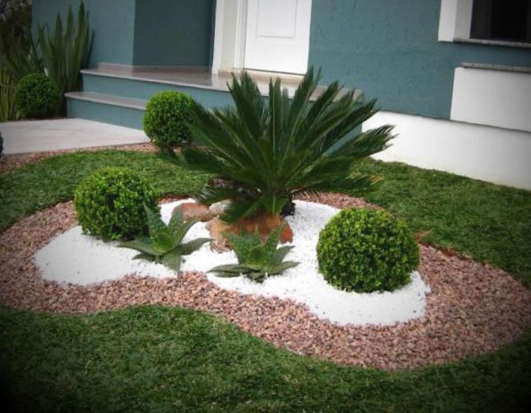 Decoração de Jardim Pequeno e Simples