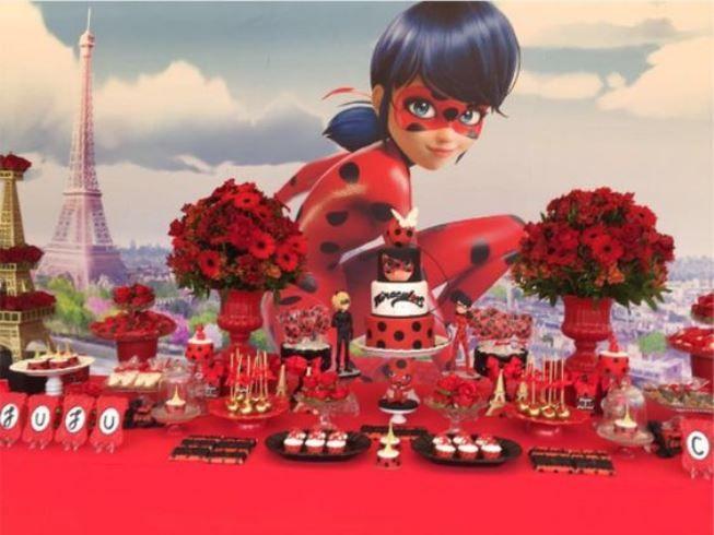 Temas para Festa Infantil ladybug