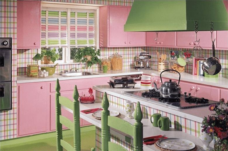 Cozinha Colorida Simples