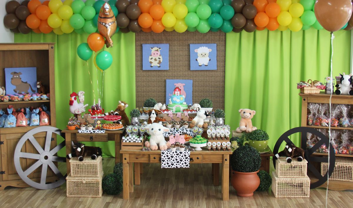 festa de aniversário Fazendinha