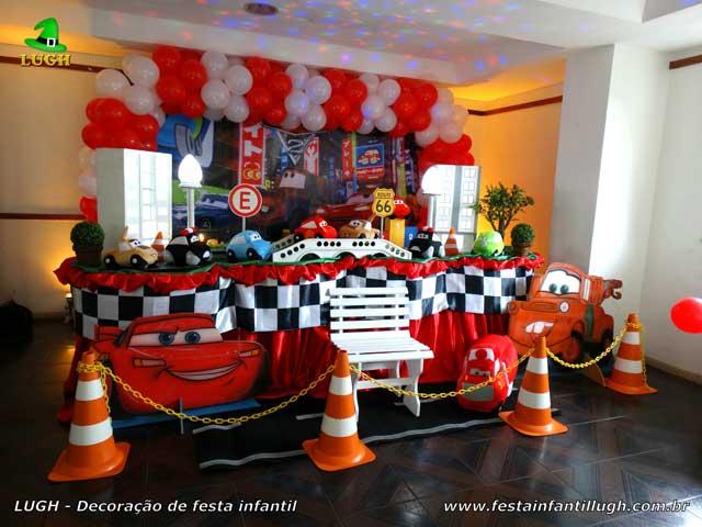 tema de festa infantil carros