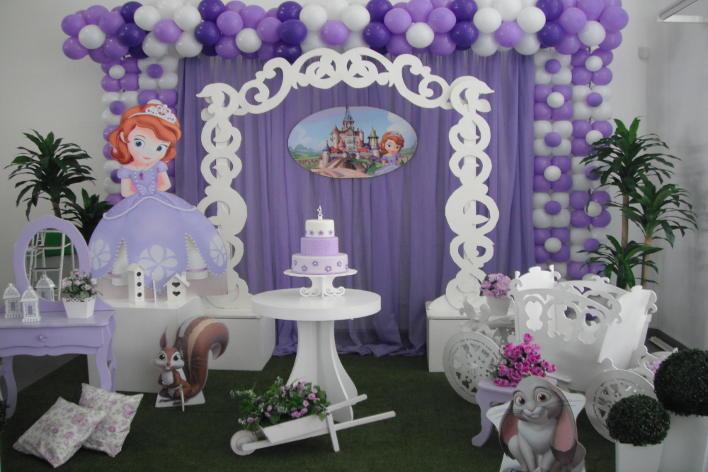tema de festa infantil princesa sofia