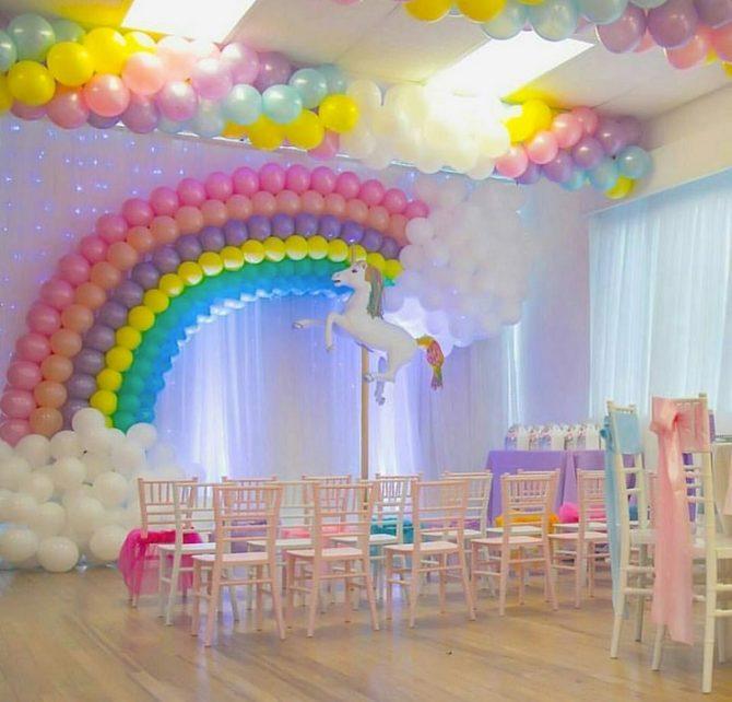 temas para festa infantil unicornios