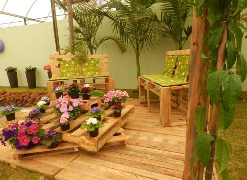 Decoração Com Pallet Para Jardim