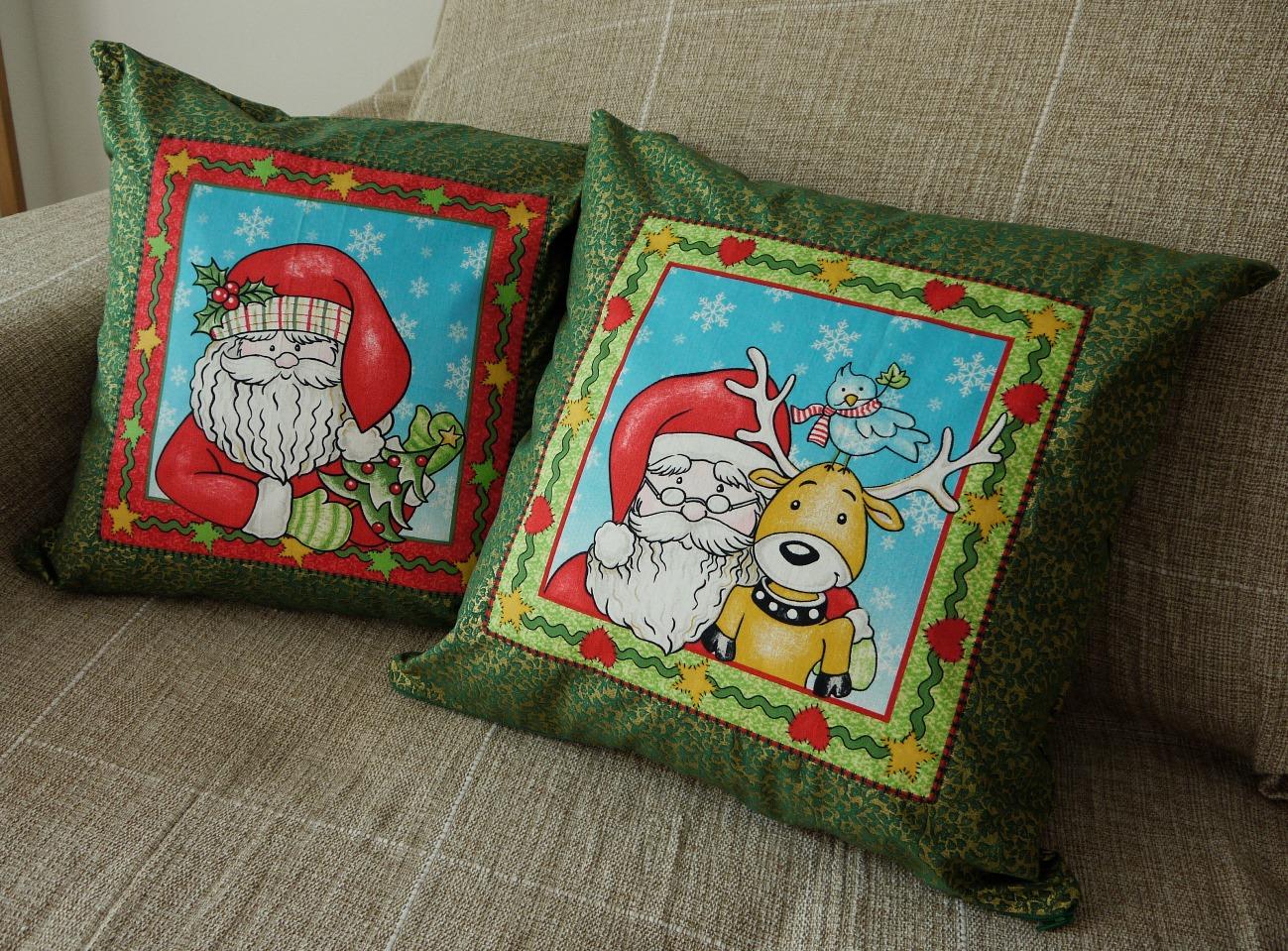 Capas de Almofadas de Natal