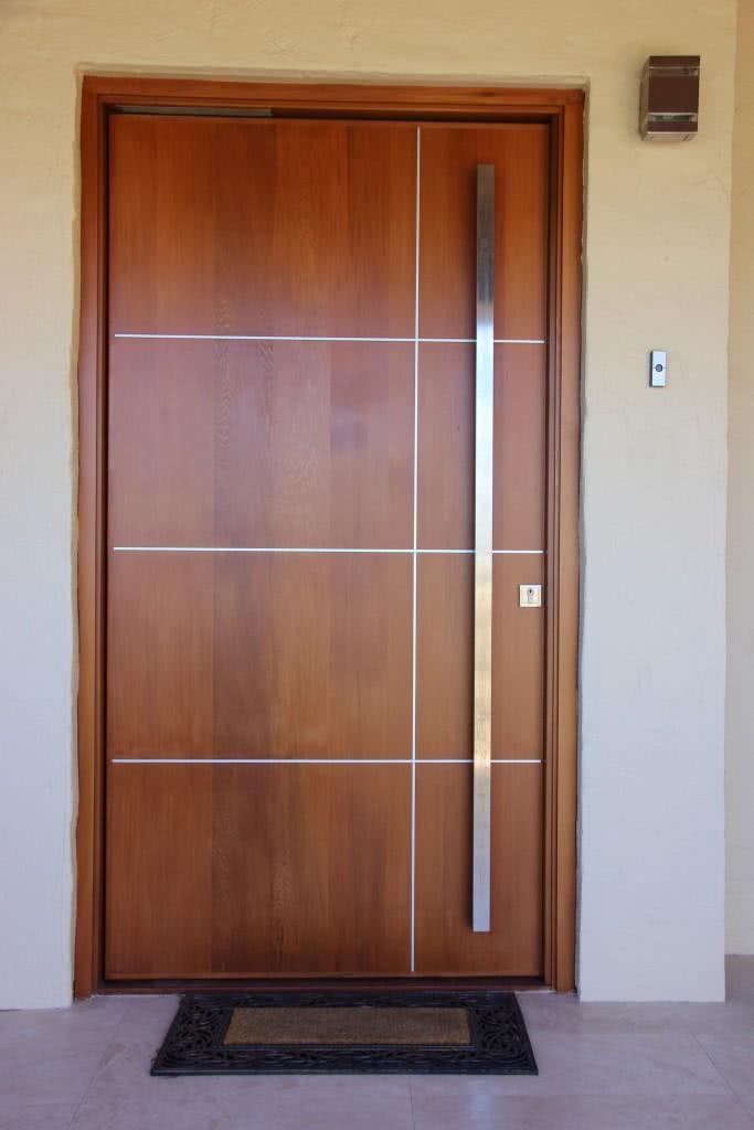 Portas Modernas de Madeira