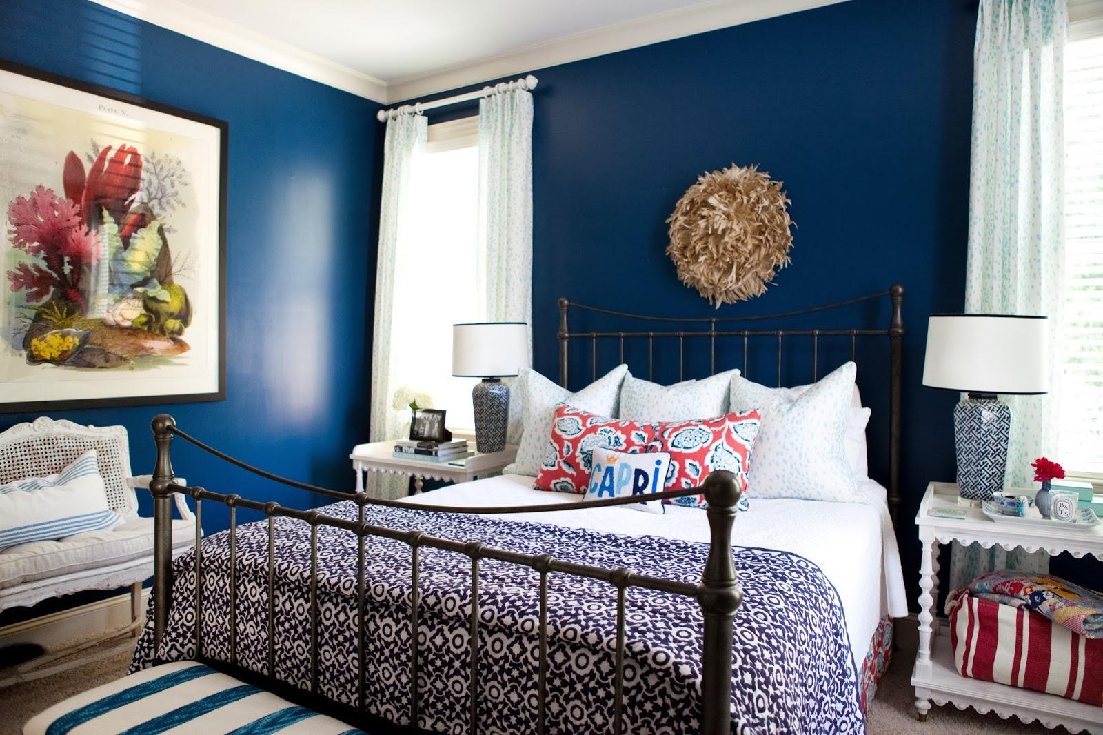 Quarto Azul Royal