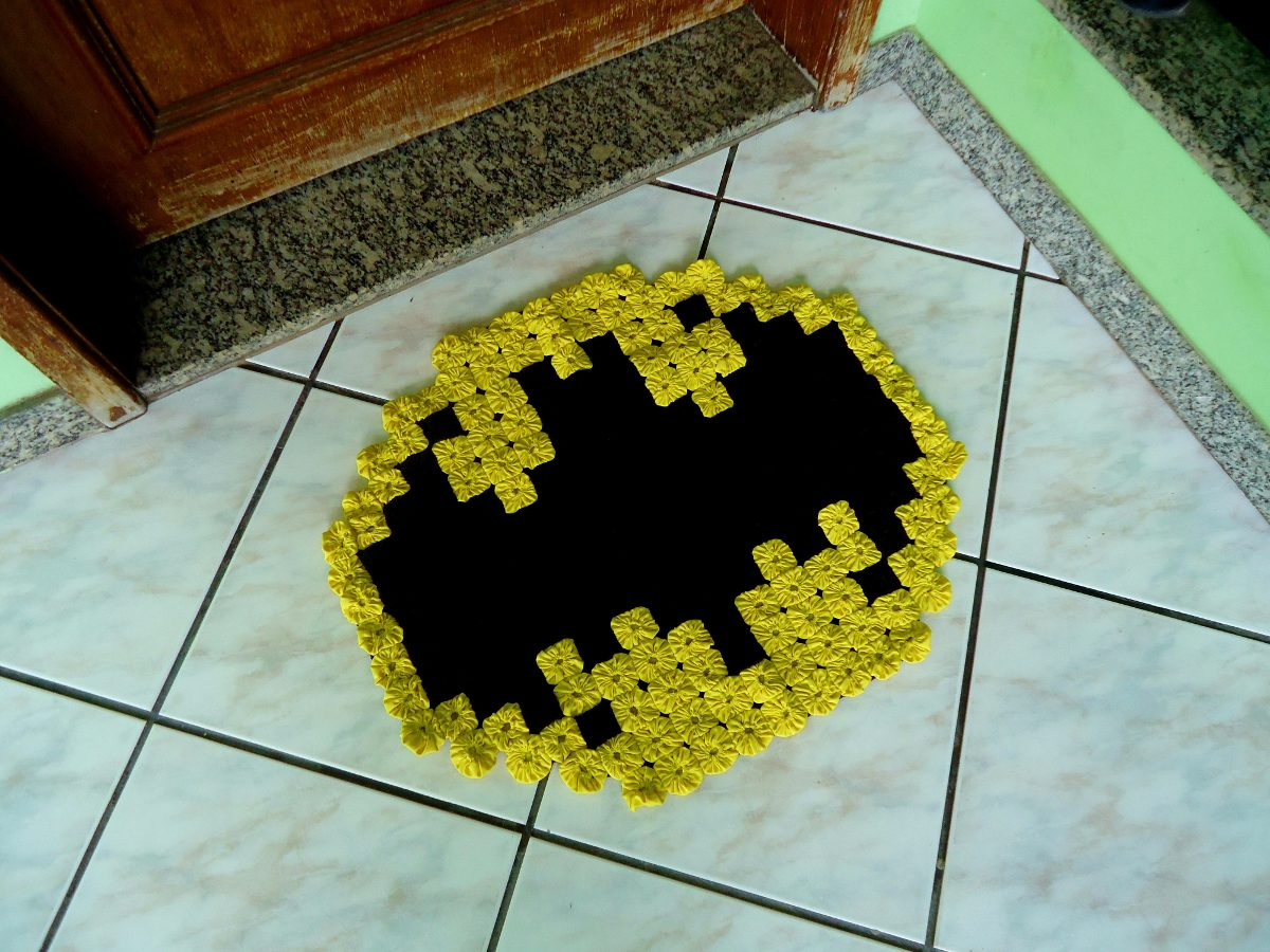 tapete de fuxico artesanato