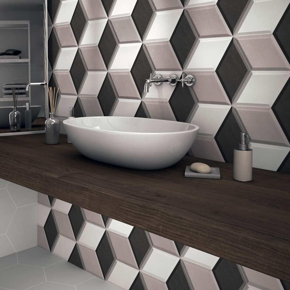 Azulejo Para Banheiro 3D