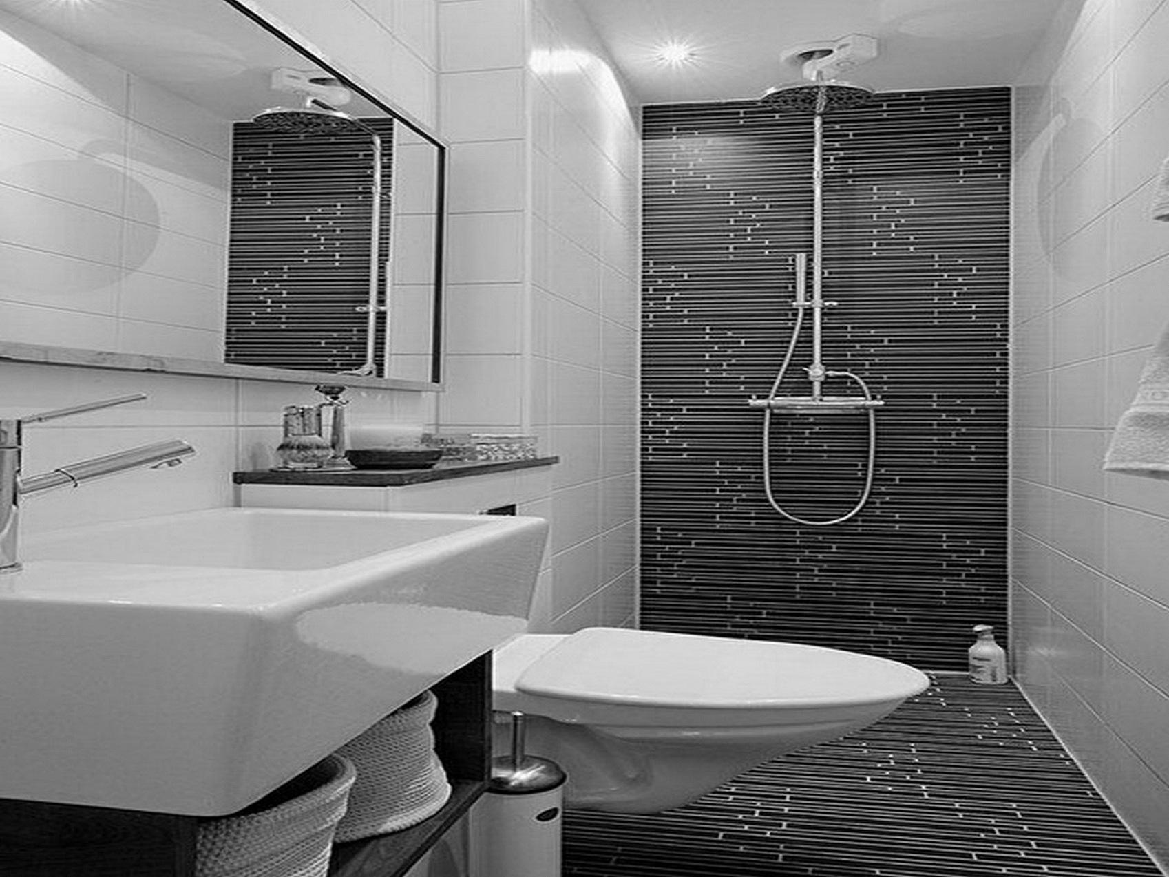 Azulejo Para Banheiro Preto e Branco