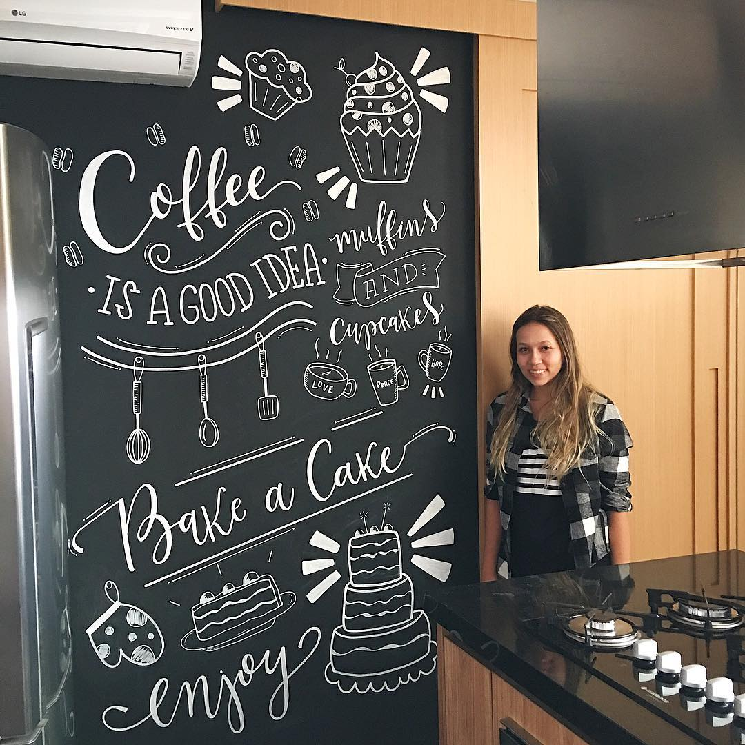Chalkboard cozinha