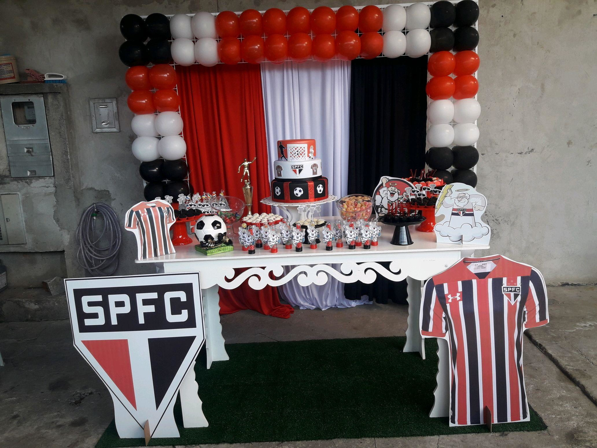Festa Tema Futebol Simples