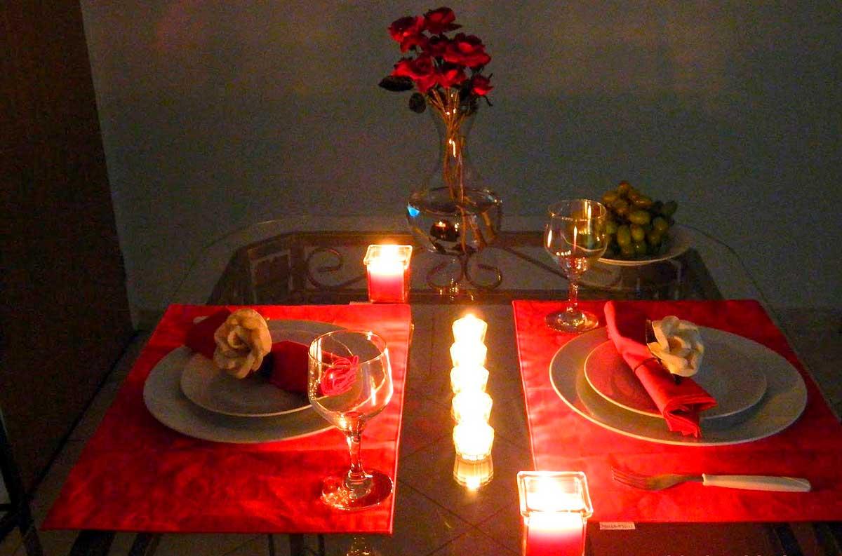 Jantar Romântico Simples e Barato