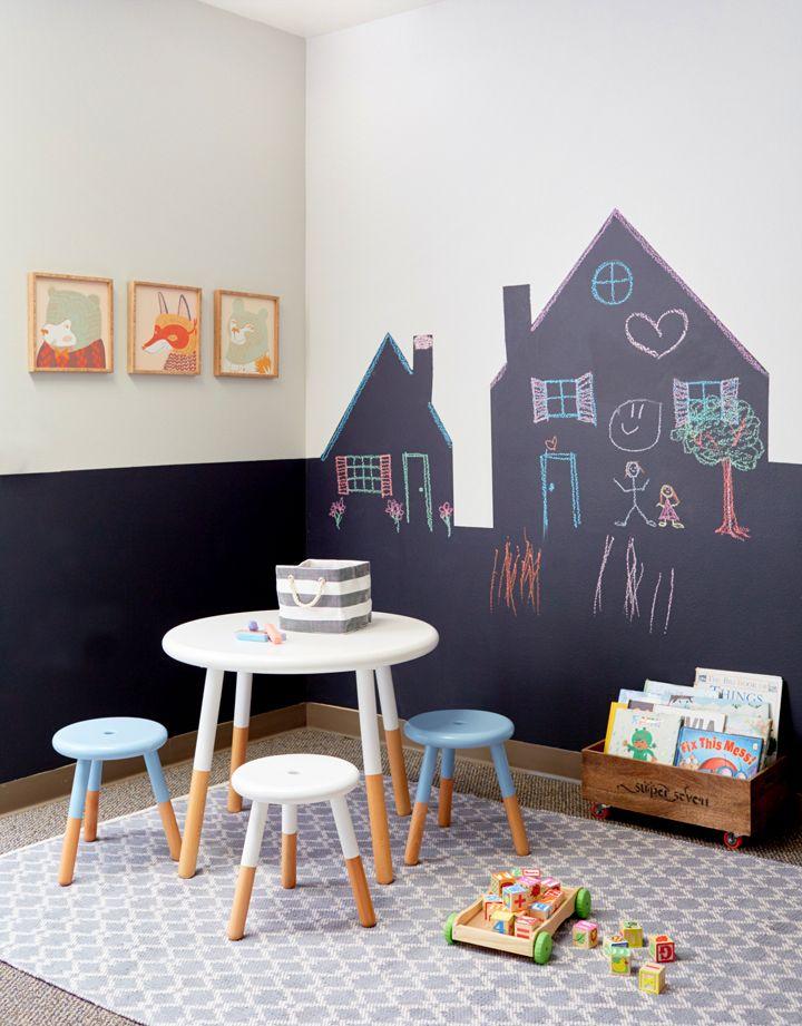 chalkboard quarto infantil