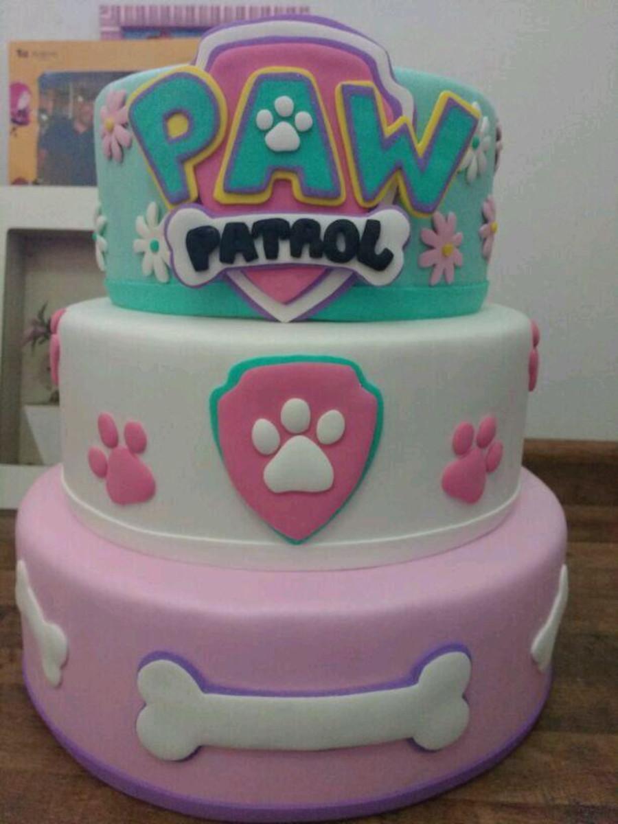 Bolo Fake patrulha Canina