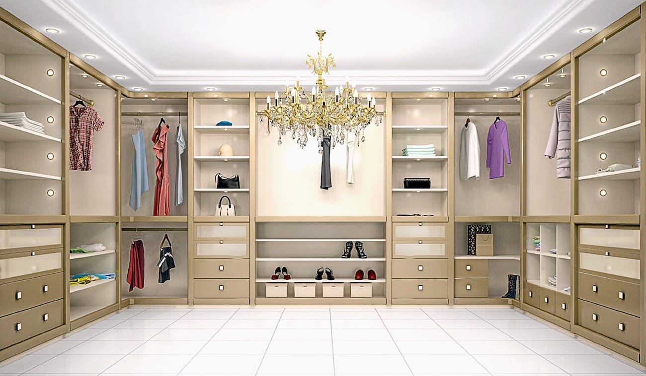 Closets de Luxo